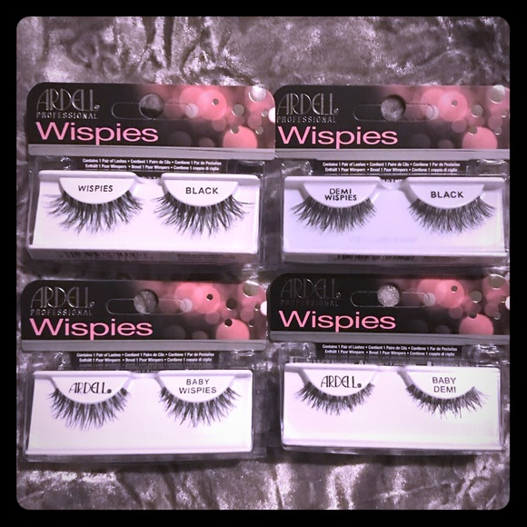 b931f2b2ca7 Ardell Makeup | Four Styles Of Wispies False Eye Lashes | Poshmark